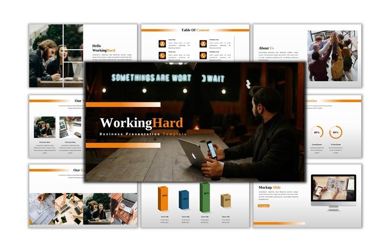 WorkingHard - Creative Business Powerpoint Template