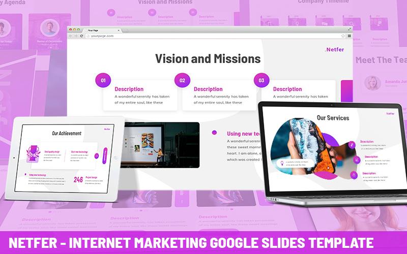 Netfer - Internet Marketing Powerpoint Template