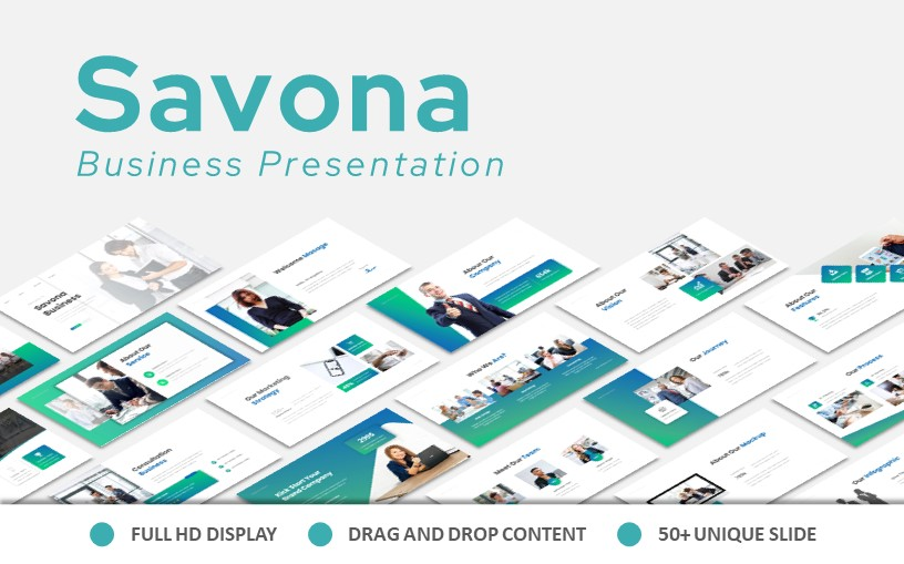 Savona Business Powerpoint Presentation