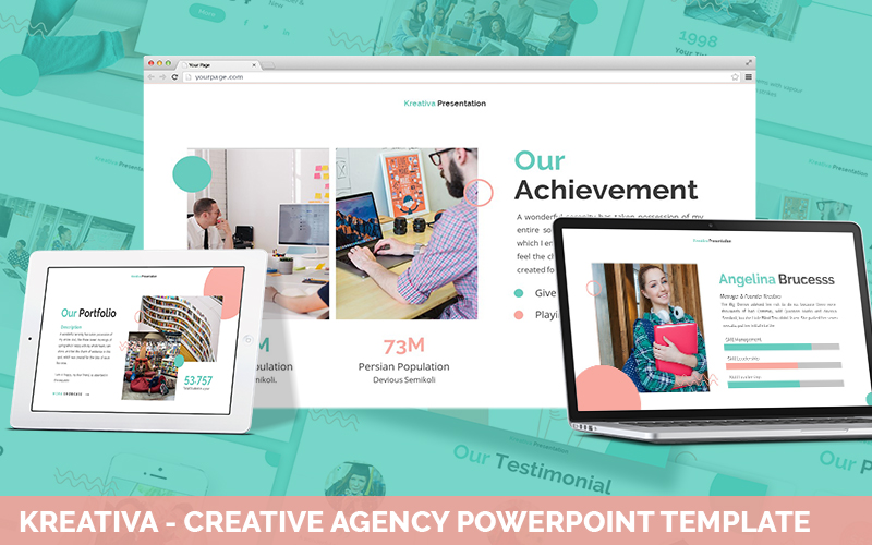 Kreativa - Creative Agency Powerpoint Template