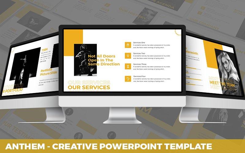 Anthem - Creative Powerpoint Template