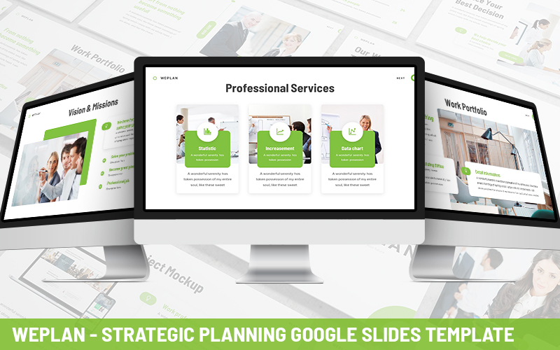 Weplan - Strategic Planning Powerpoint Template