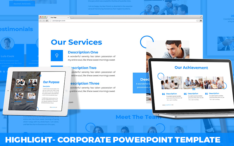 Highlight - Corporate Powerpoint Template