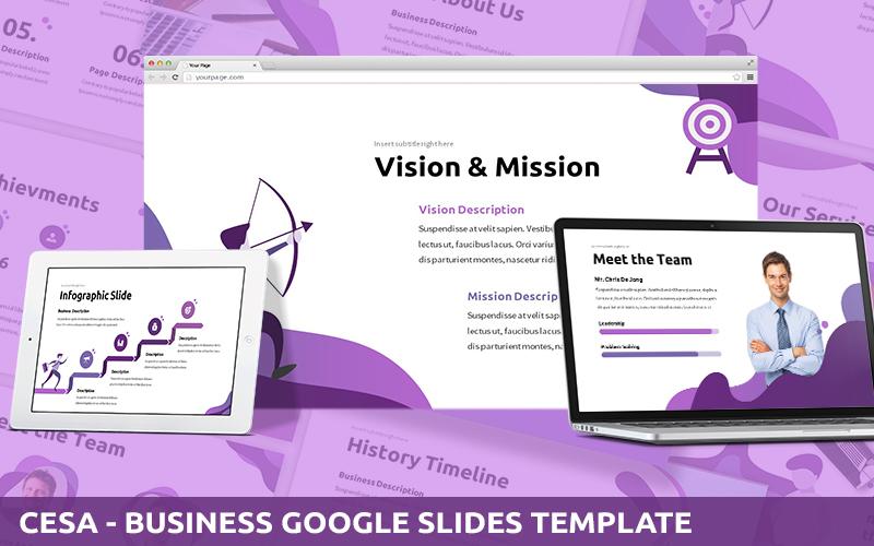 Cesa - Business Powerpoint Template