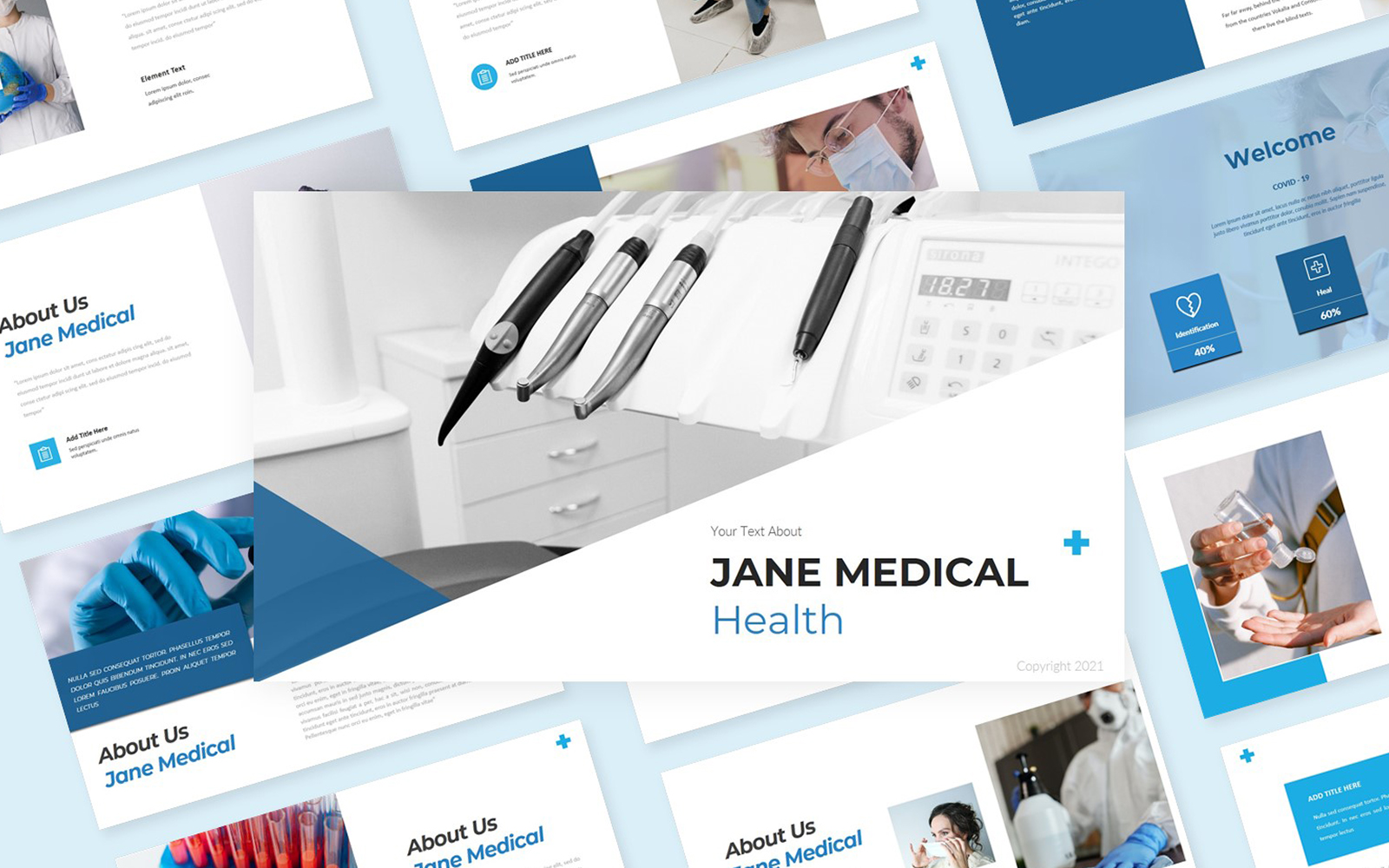 Jane Medical Health PowerPoint Template
