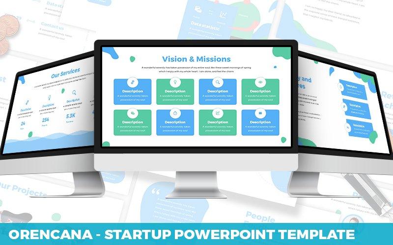 Orecana - Startup Powerpoint Template