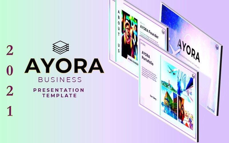 AYORA - Powerpoint Presentation Template