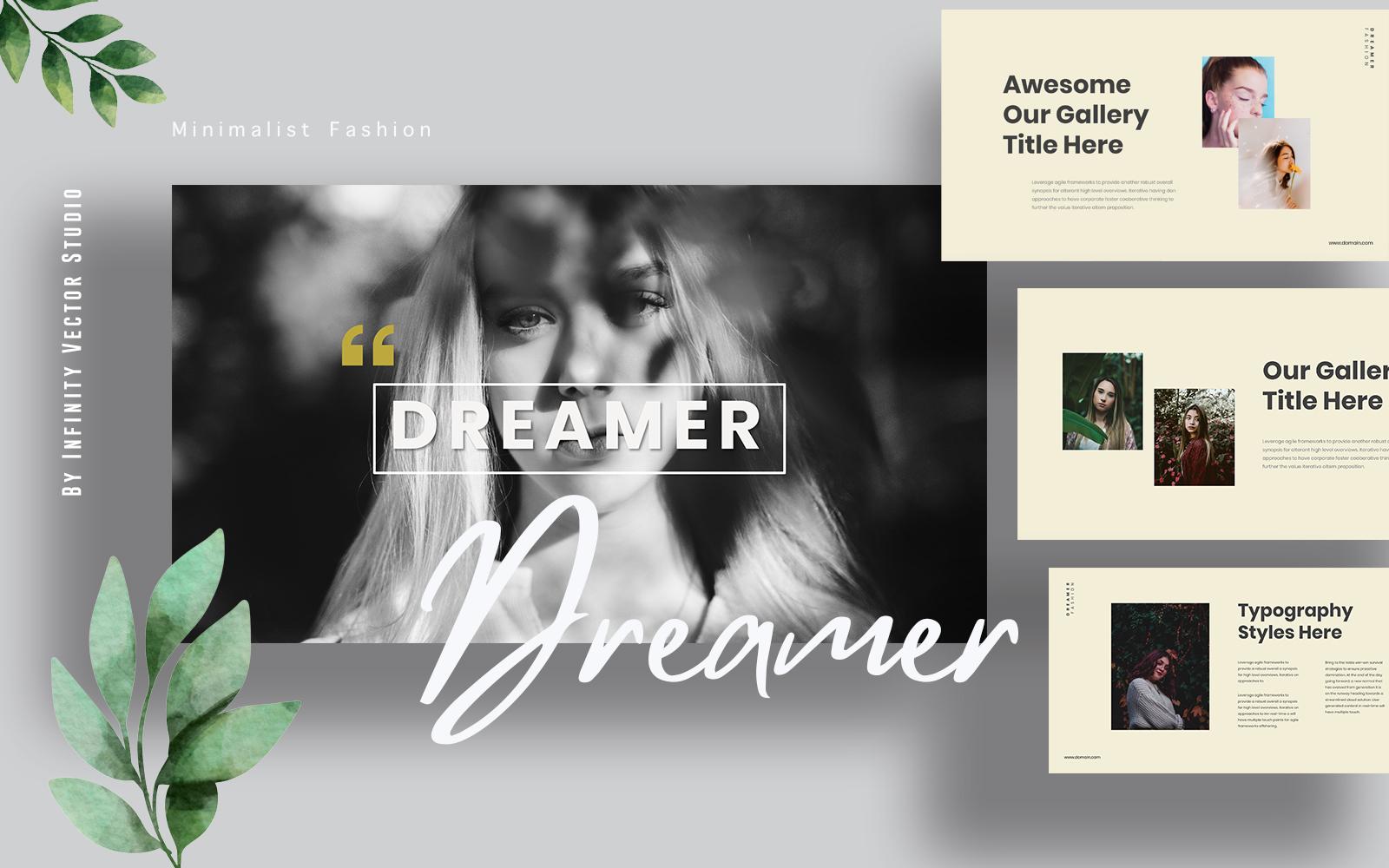 Dreamer Lookbook Powerpoint