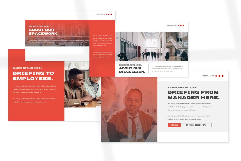 BusinessPRO Powerpoint Template
