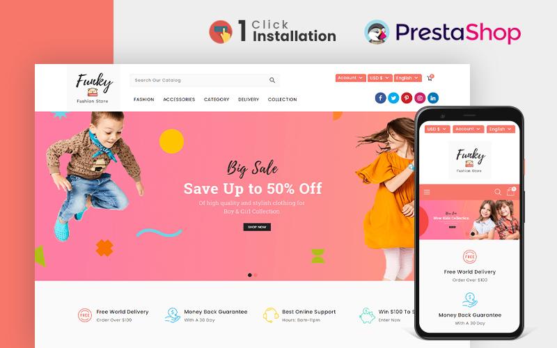 PrestaShop 購物商店網站