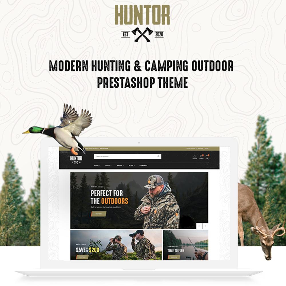 TM HUNTOR - HUNTING & OUTDOOR STORE PRESTASHOP THEME