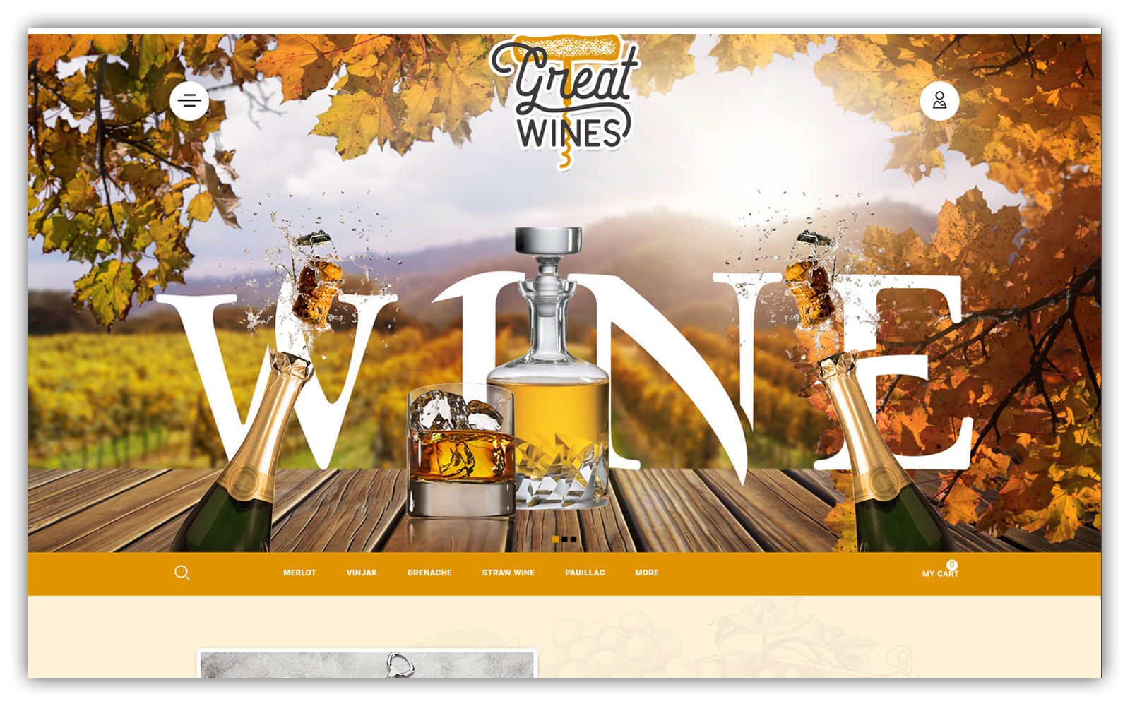 Greatwine - Wine Store OpenCart Template