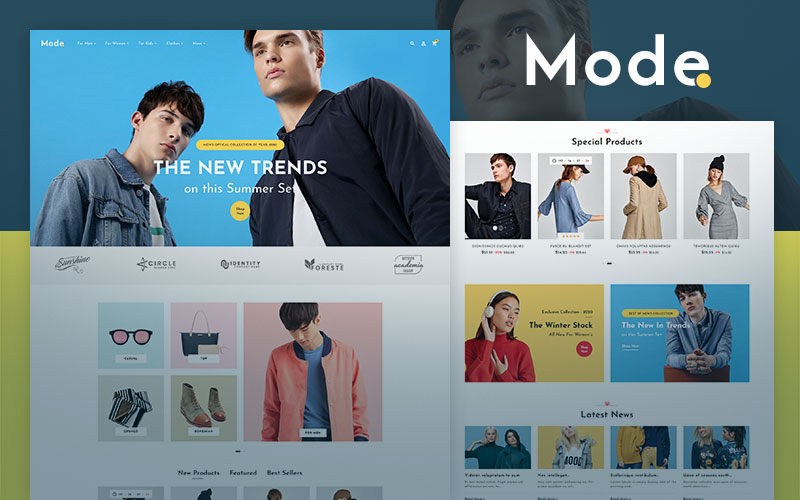 Mode - OpenCart Theme for Online Fashion Store