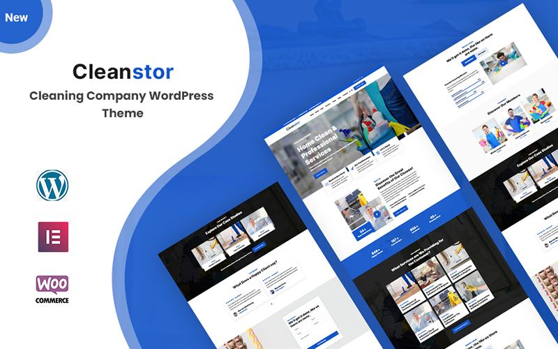 Cleanstor - Cleaning Company Responsive WordPress Theme
