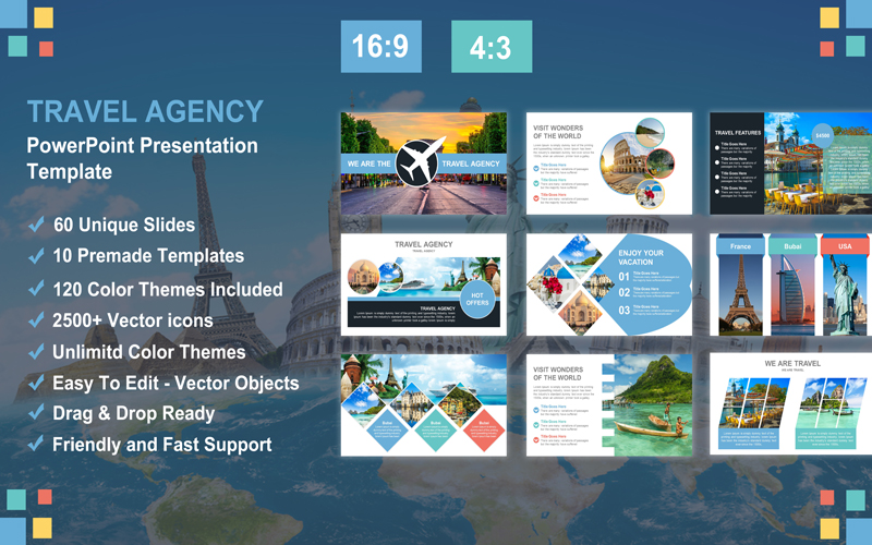 Travel & Agency PowerPoint Presentation Template