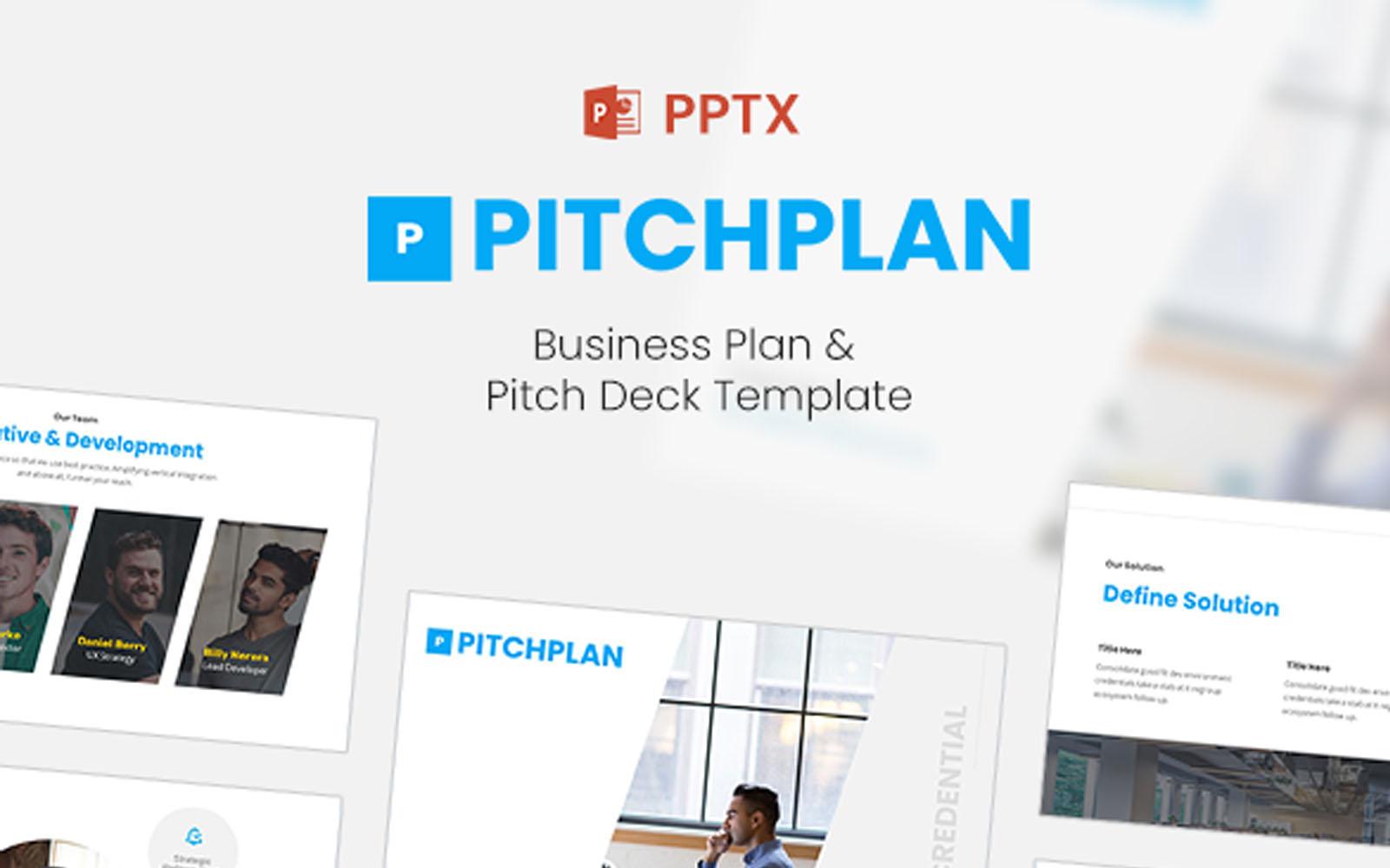 PitchPlan - Business Plan & Pitch Deck PowerPoint Template