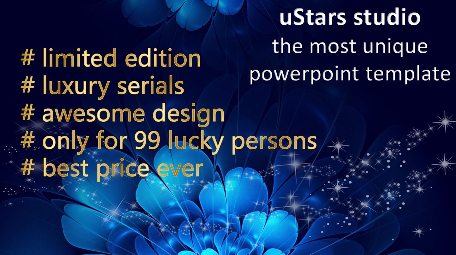 Unique Luxury Powerpoint Template