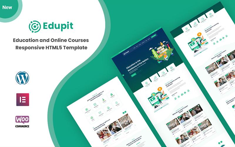 Edupit - Education Responsive HTML5 Website Template