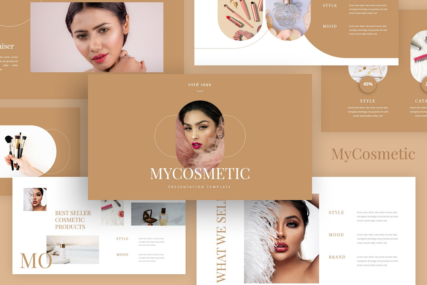 MyCosmetic - Cosmetic PowerPoint Template