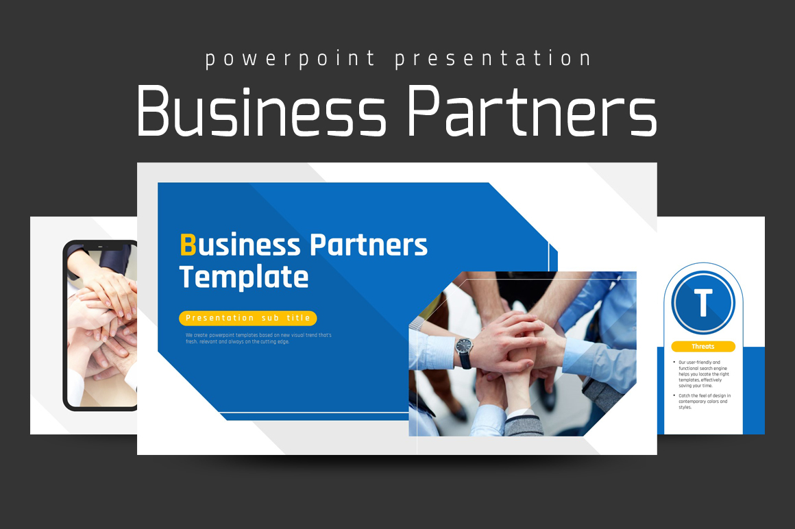 Business Partners PowerPoint Template