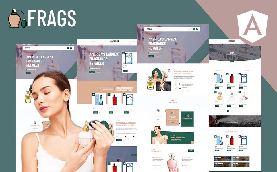 Fragz   Perfume and Cosmetics Store Angular Template