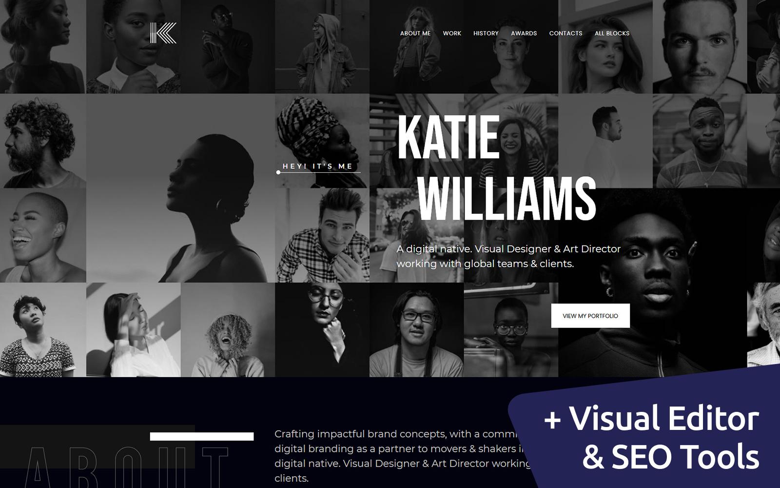 Manifest Moto CMS Website Design for Artworks