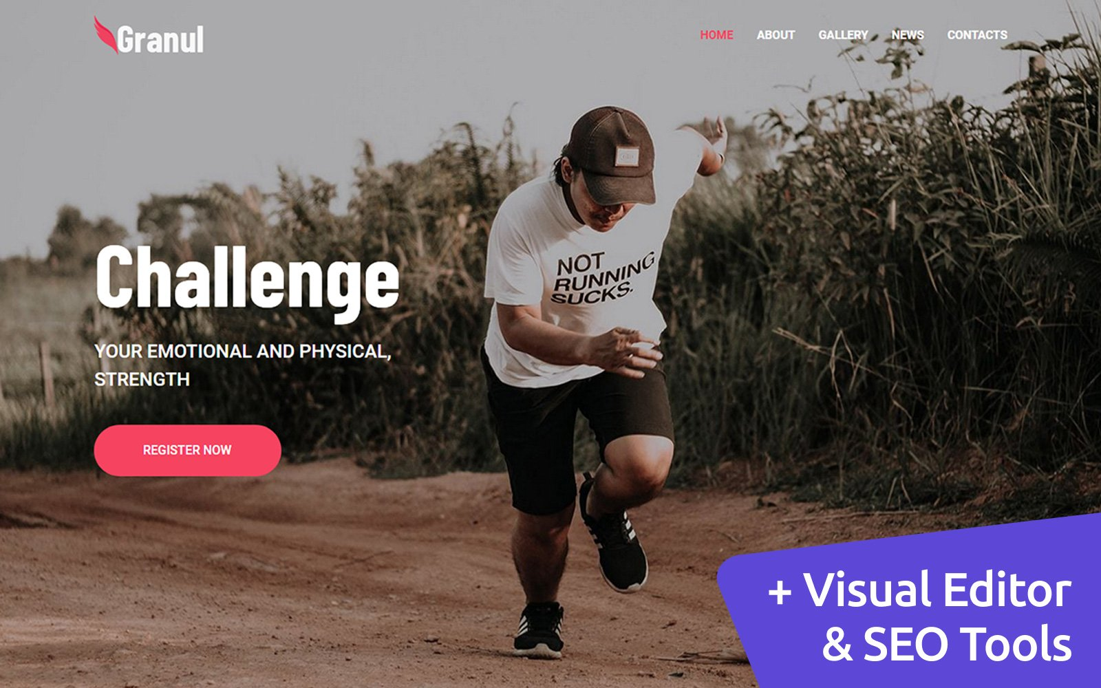 Sports Team Moto CMS 3 Website Template