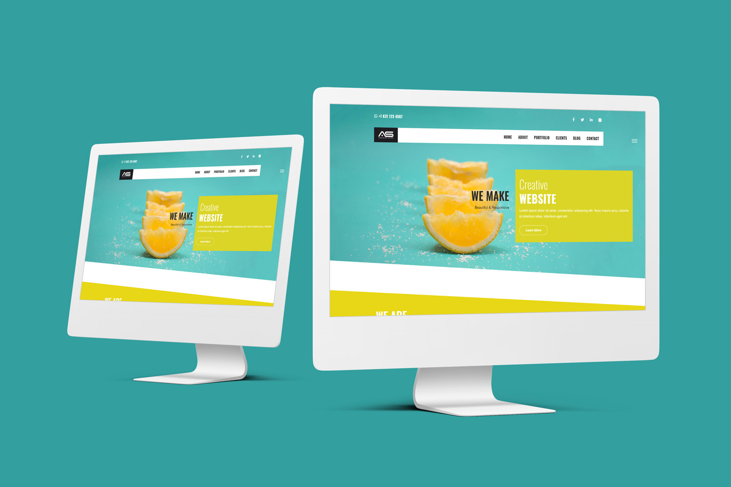 Abusayed | Digital Agency HTML5 Landing Page Template