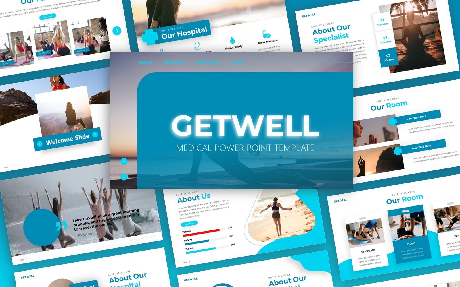 Getwell - Wellness Multipurpose PowerPoint Template