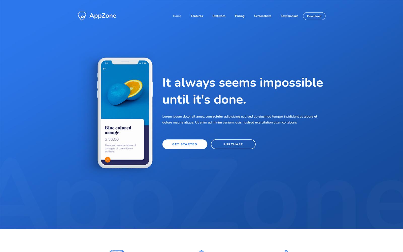 Appzone - App Landing HTML5 Template