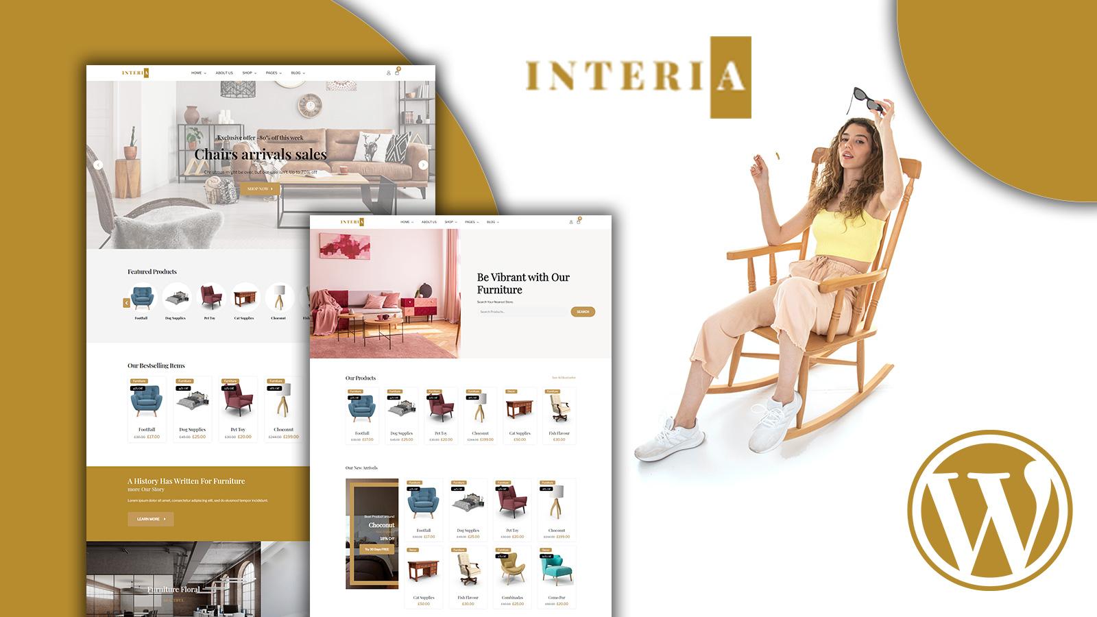Interia - Furniture Woocommerce Theme