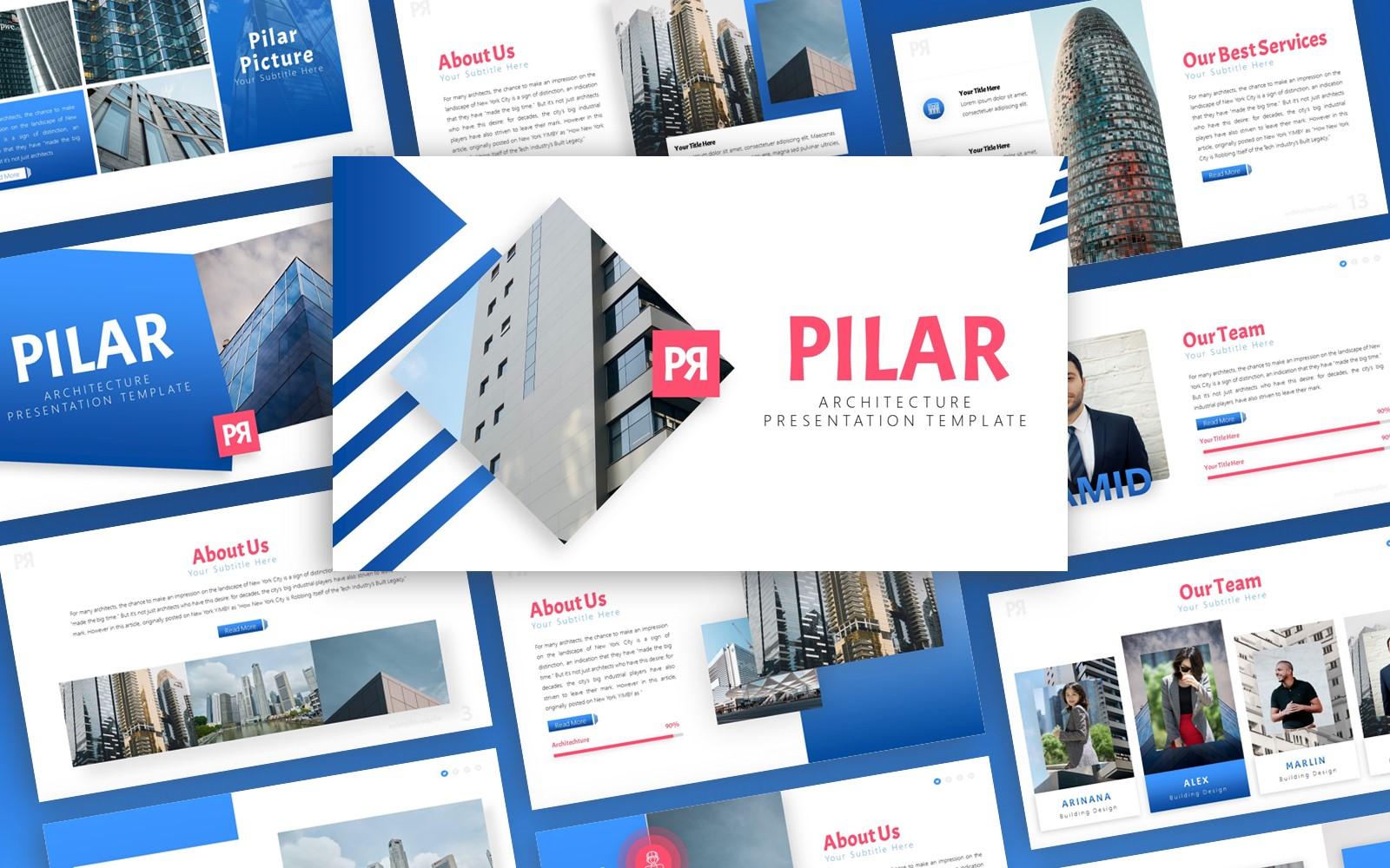 Pilar -  Architecture Multipurpose PowerPoint Presentation