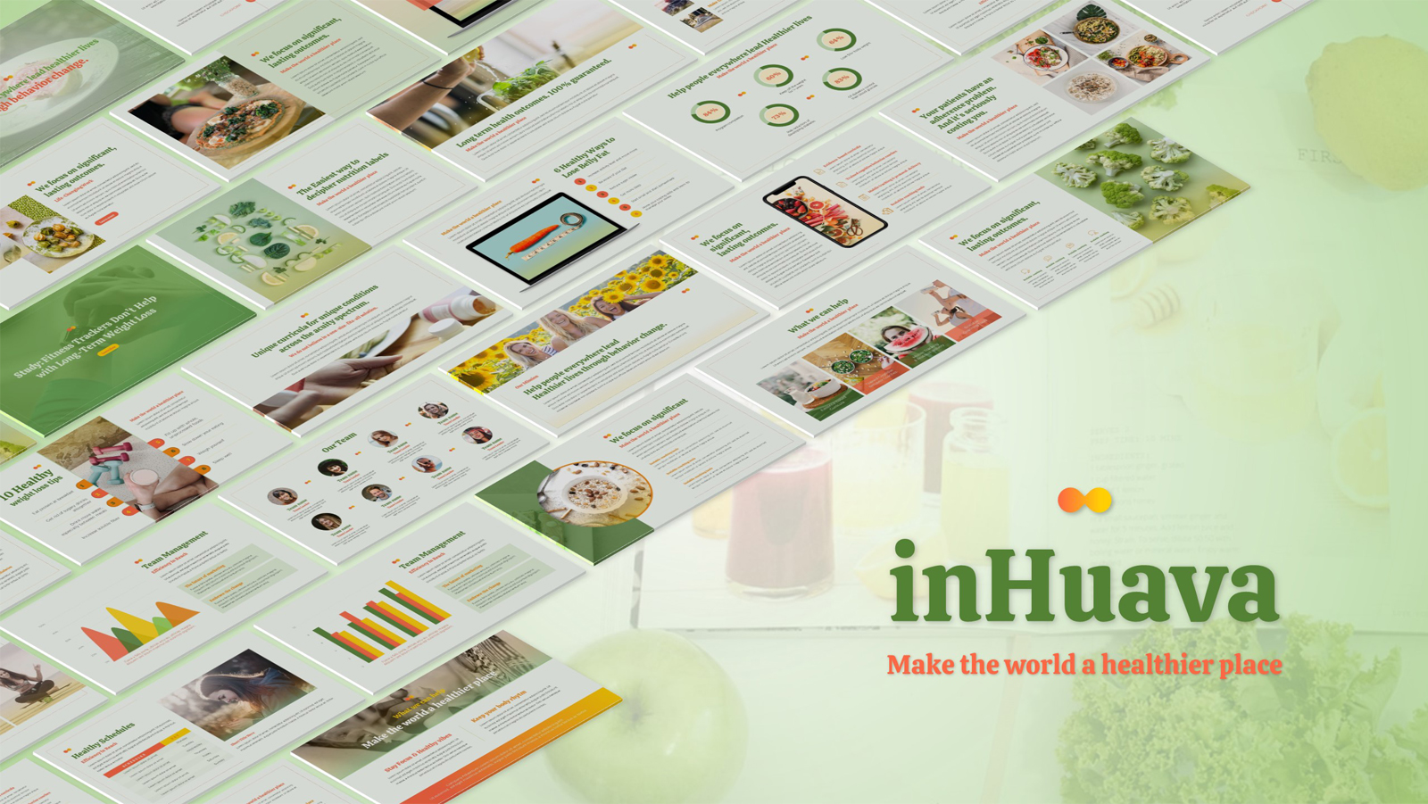 inHuava Powerpoint Template