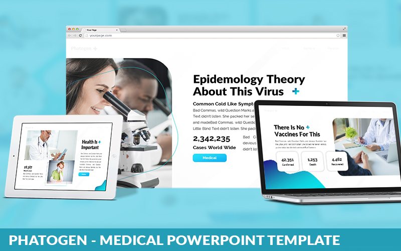 Phatogen - Medical Powerpoint Template