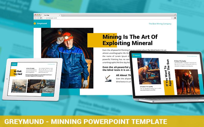 Greymund - Mining Powerpoint Template