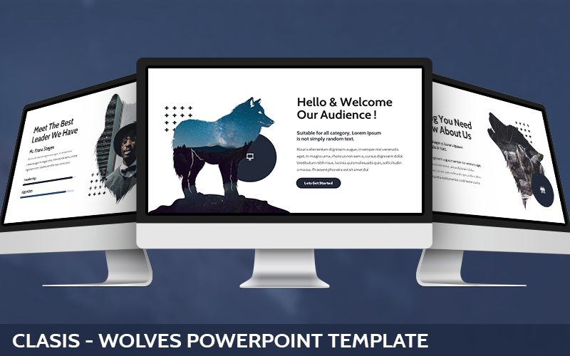 Clasis - Wolves Powerpoint Template
