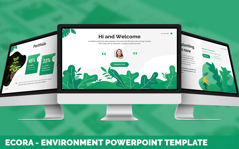 Ecora - Environment Powerpoint Template
