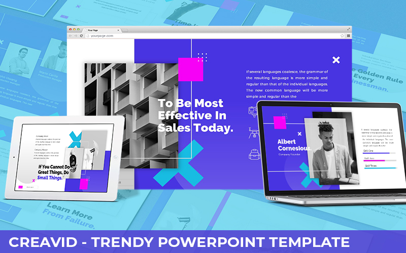 Creavid - Trendy Powerpoint Template