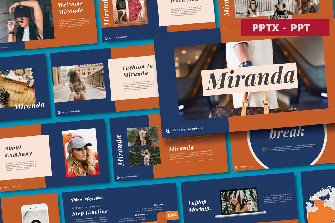 Miranda Powerpoin Template