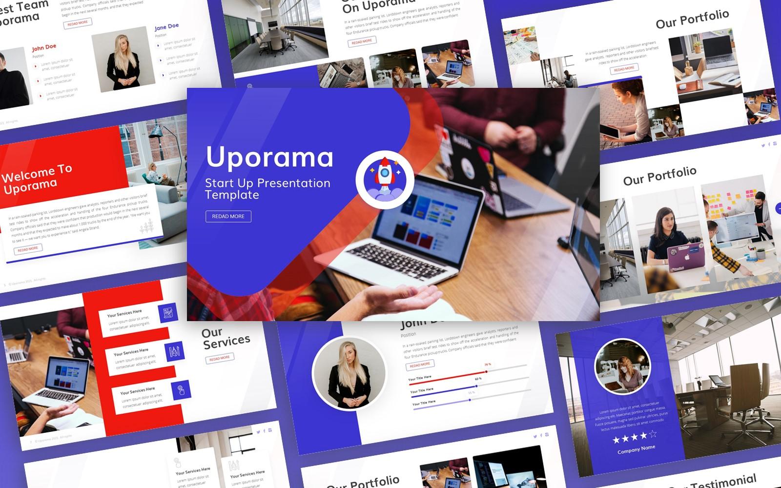 Uporama - Start Up Multipurpose PowerPoint Presentation