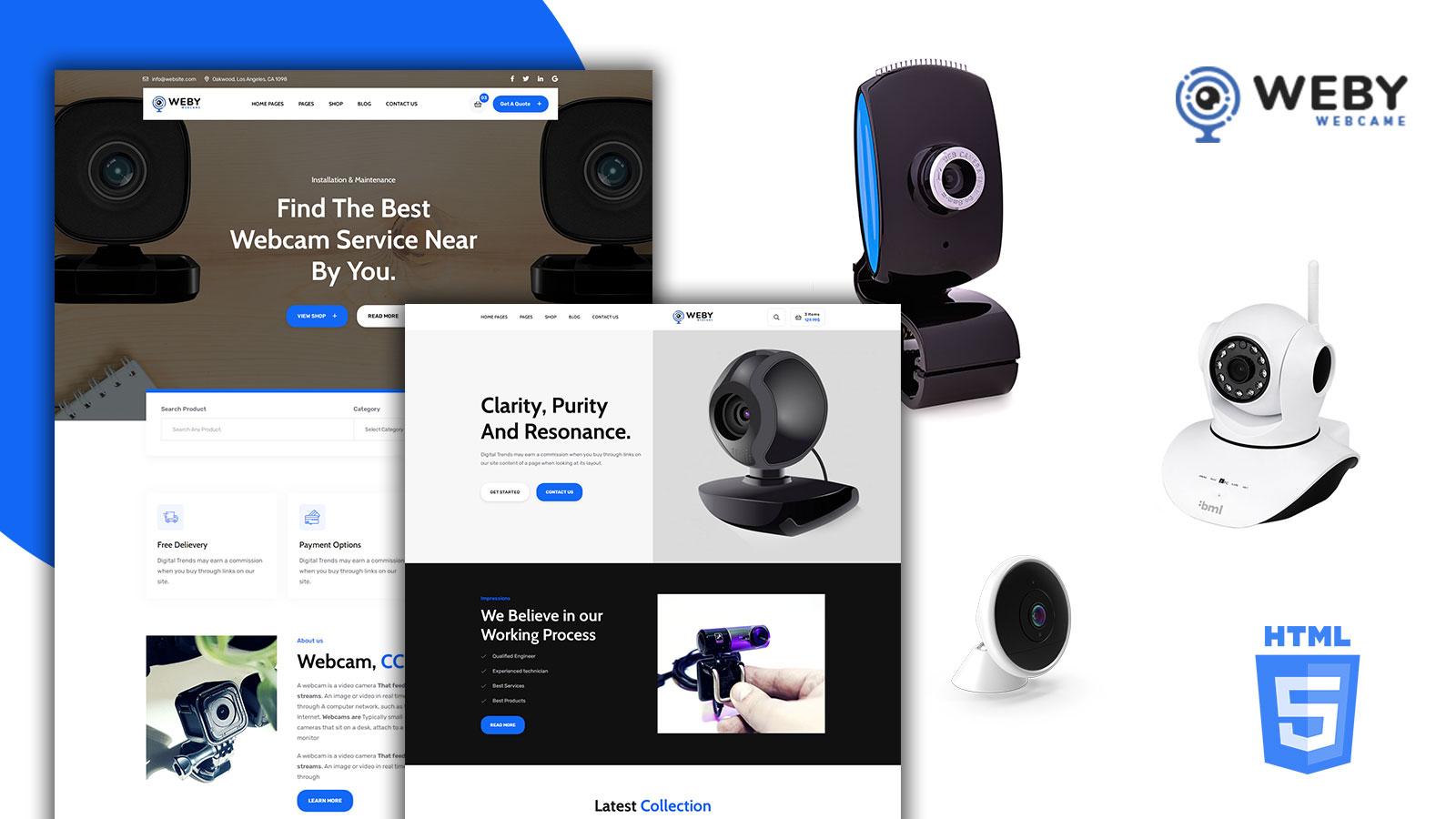 Weby - Webcam Agency HTML5 Template