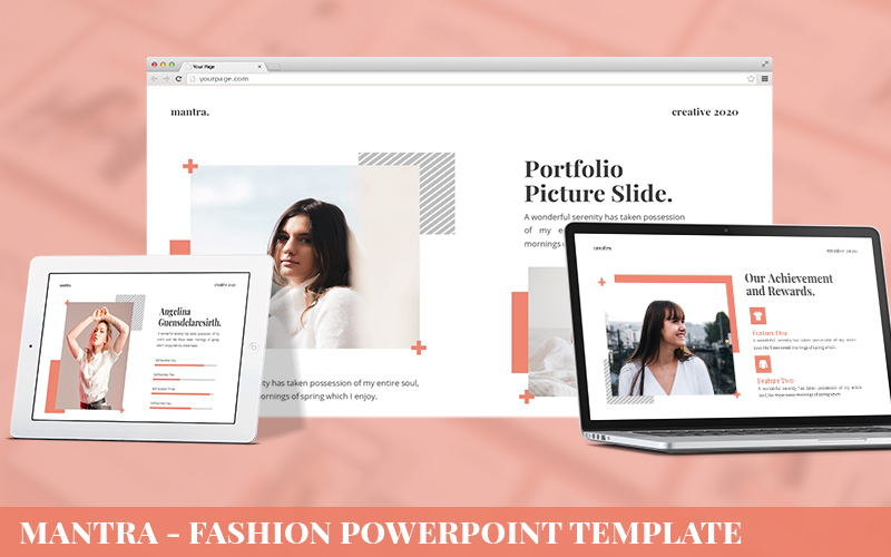 Mantra - Fashion Powerpoint Template
