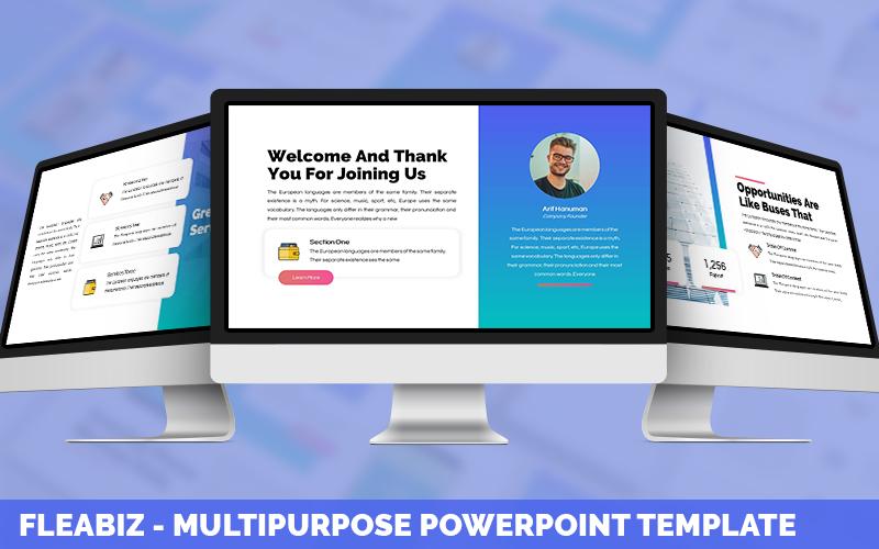 Fleabiz - Multipurpose Powerpoint Template