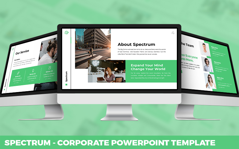 Spectrum - Corporate Powerpoint Template