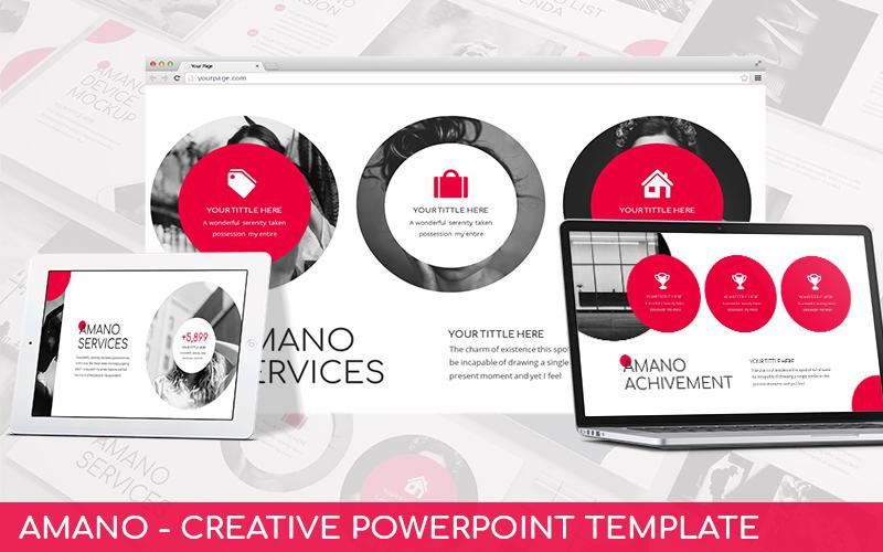 Amano - Creative Powerpoint Template
