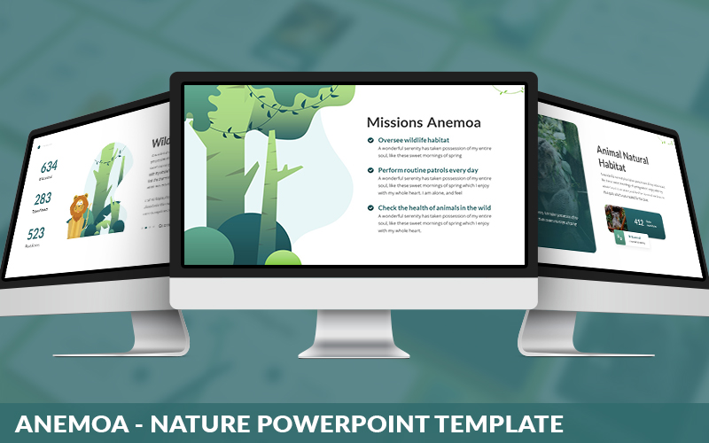Anemoa - Nature Powerpoint Template