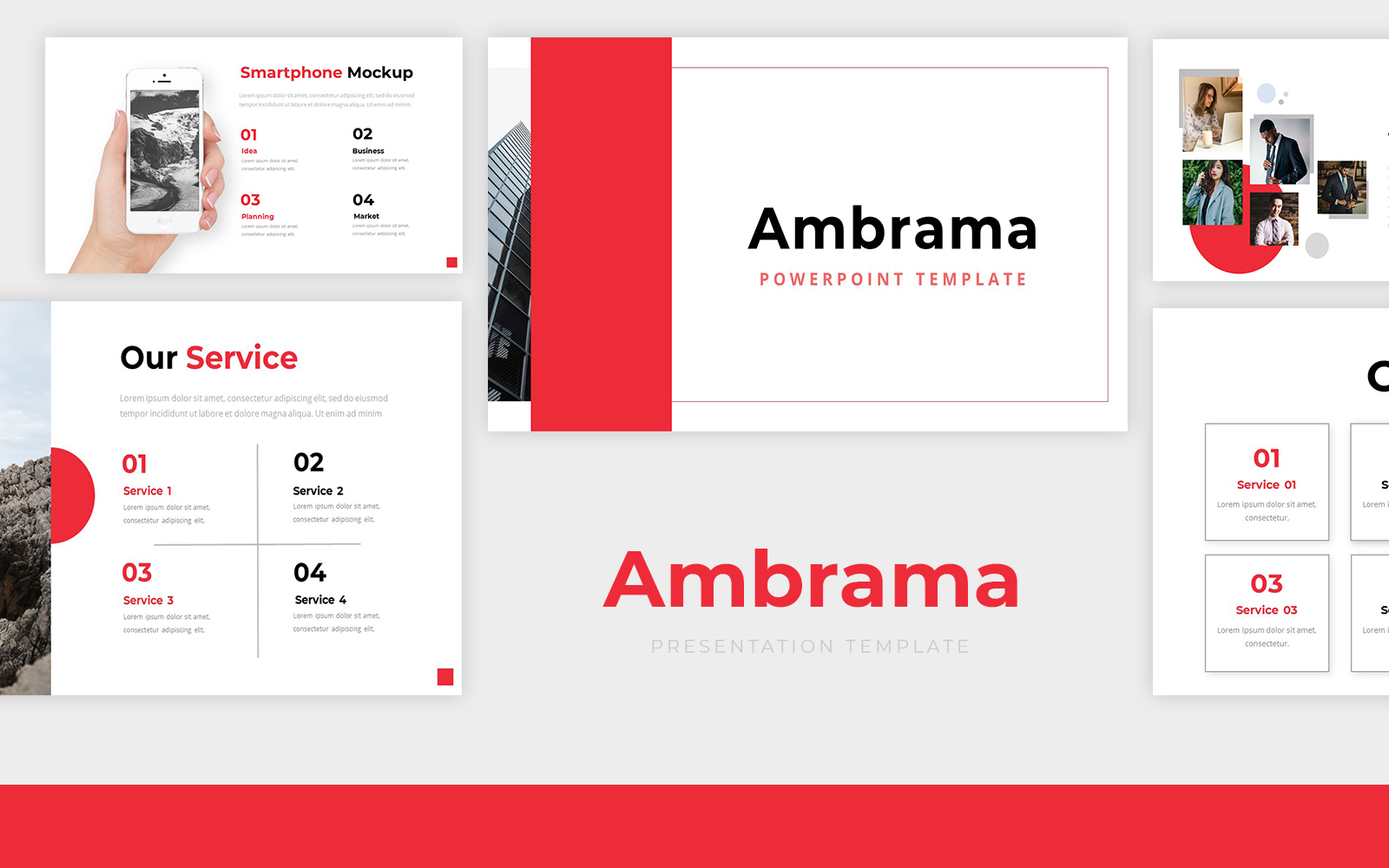 Ambrama Powerpoint Template