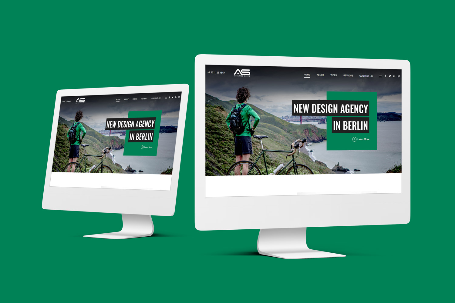 Abusayed | New Agency HTML5 Landing Page Template
