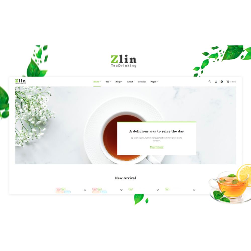TM Zlin - Tea PrestaShop Theme