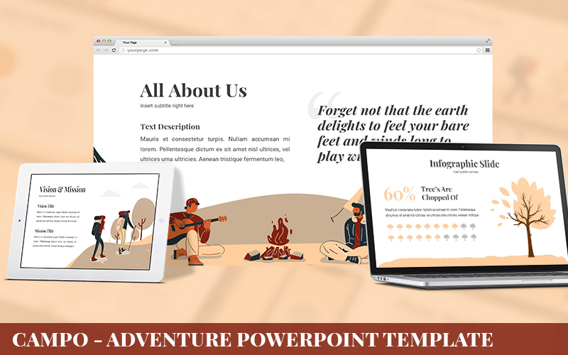 Campo - Adventure Powerpoint Template